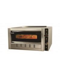 Four à pizza gaz -1 chambre - 4 pizzas ∅ 30 cm - SERGAS