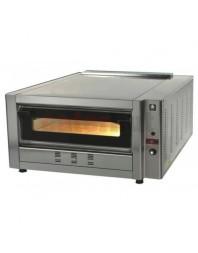 Four à pizza gaz -1 chambre - 6 pizzas ∅ 30 cm - SERGAS