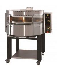 Four à pizzas gaz avec plateau et base rotatifs - 1 étage