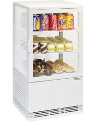 Mini vitrine réfrigérée positive 58 litres